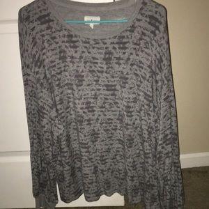 Light sweatshirt.